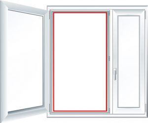 Замер светового проема для установки сеток AntiPet
